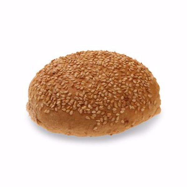 Afbeelding van bruine bollen sesam