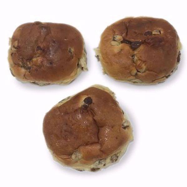 Afbeelding van rozijnenbollen